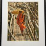 Laotian Monk by Lou Jaffe