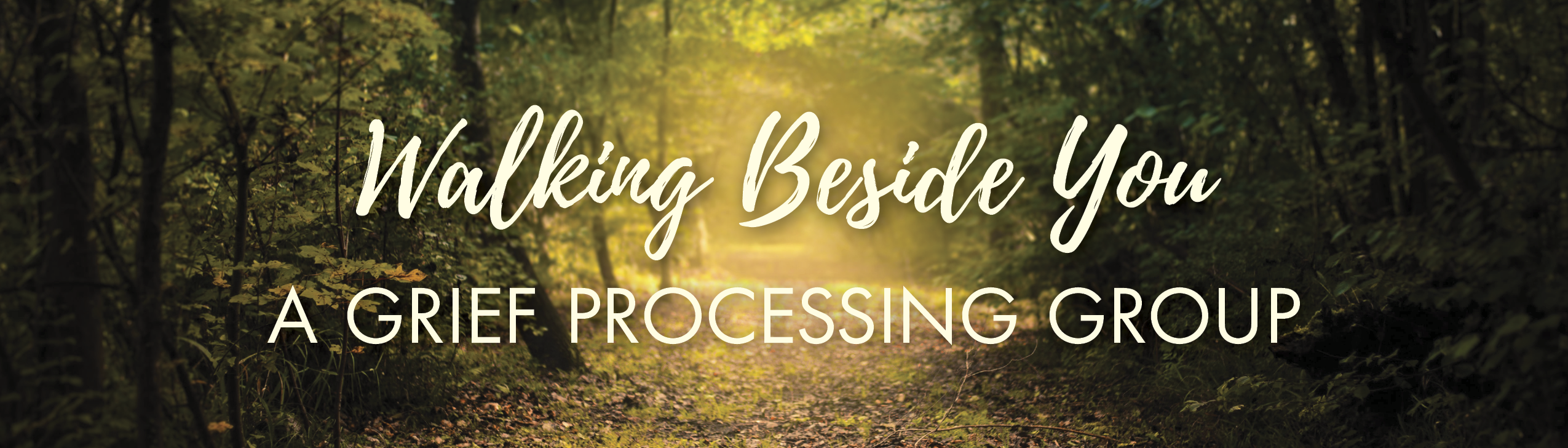 Walking Beside You: A Grief Processing Group